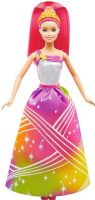 Barbie : Barbie Rainbow Cove Dreamtopia Dukke - Barbie Light Show Princess DPP90