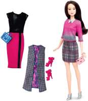 Barbie : Barbie New Body Fashionistas dukke - Barbie New Shape dukke DTD99