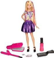 Barbie : Barbie D.I.Y. Crimps & Curls - Barbie dukke DWK49