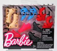 Barbie : Barbie Fashion sko - Barbie FCR93
