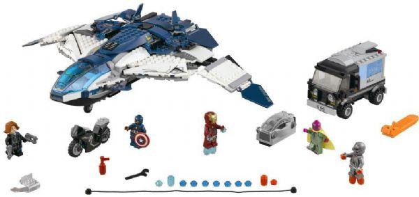 Image of Avengers quinjet - kampen i byen (02-076032)