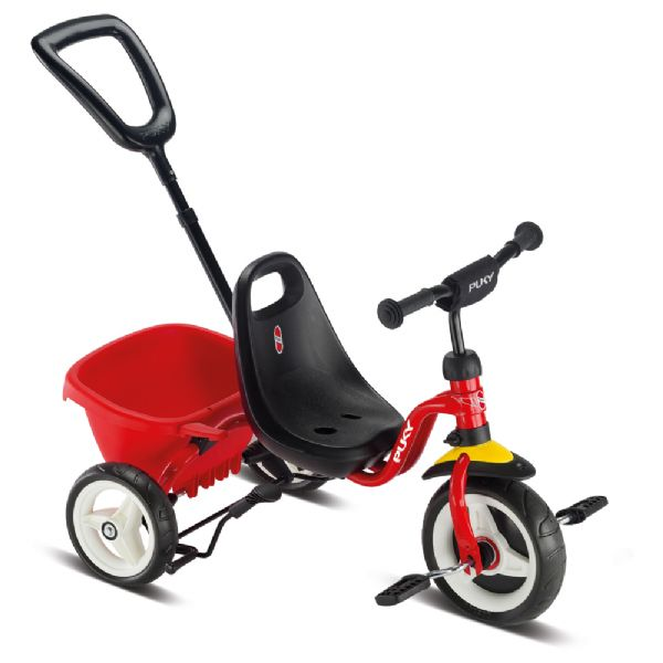 Image of Ceety Trehjulet cykel rød (04-002214)