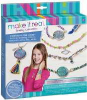 Hobby : Make it real amulet - Make It Real Starburst Glitter Jewelry 1