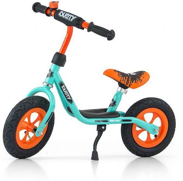 Billede af Dusty Pistache-orange Løbecykel 10tommer