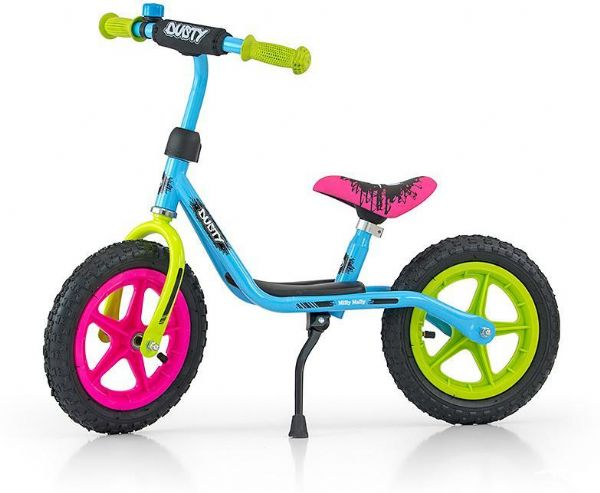 Billede af Dusty Multicolor Løbecykel 12 tommer