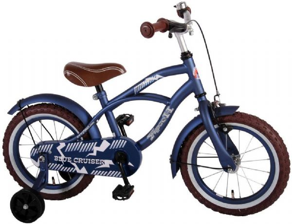 Billede af Børnecykel Blue Cruiser 14 tommer
