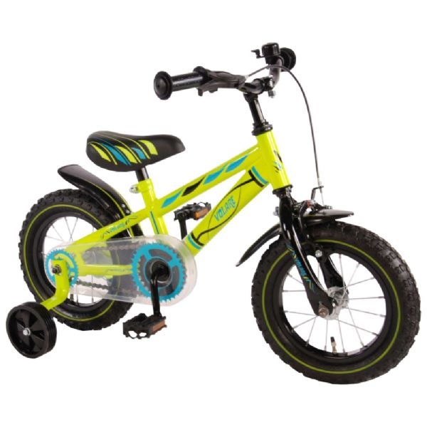 Billede af Børnecykel Electric Green 12 tommer
