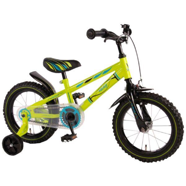 Billede af Børnecykel Electric Green 14 tommer