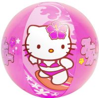 Hello Kitty : Hello kitty badebold 51 cm - Intex pool tilbehør 58026