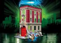 Playmobil : Ghostbusters Brandstation - Playmobil Ghostbusters 9219