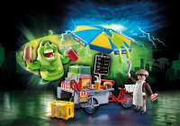 Playmobil : Slimer i Hot Dog bod - Playmobil Ghostbusters 9222