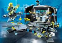 Playmobil : Dr. Drones kommandocentral - Playmobil Top Agents 9250