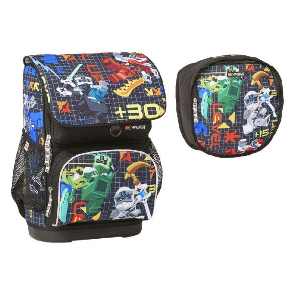 Image of Ninjago Optimo Prime Skoletaske 2 dele (142-086046)