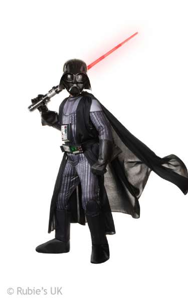 Image of Deluxe Darth Vader kostume 110 cm (179-620276_110)