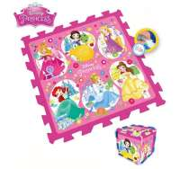 Disney Princess : Legegulv Disney Princess - Gulvtæpper Disney Prinsesser 880002