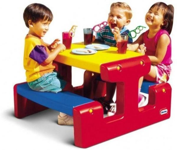 Image of Little Tikes Picnicbord, lille (21-004795)