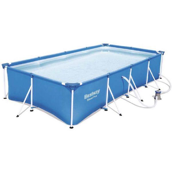 Image of Steel Pro pool 5.700L 400x211x81 cm (219-056424)
