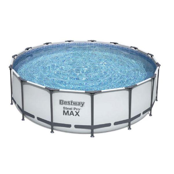 Image of Steel Pro MAX pool 16.015L 457x122 cm (219-056438)