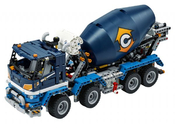 Image of Lastbil med betonblander (22-042112)