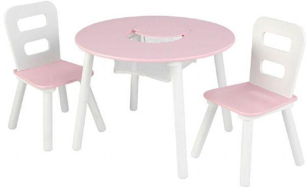 Image of kidkraft Bord og stole sæt pink (226-026165)
