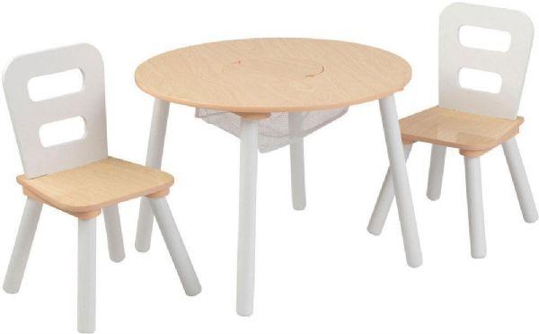 Image of Opbevaringsbord med 2 stole (226-027027)