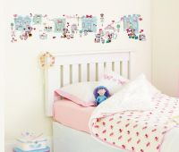 Worlds Apart Wallstickers : Minnie Mouse Wallstickers Historie - Minnie Mouse Børneværelse 650608
