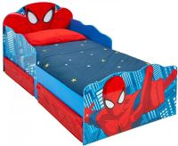 Worlds Apart : Spider-Man juniorseng m. madras - Spiderman børnemøbler 663554