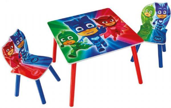 Image of PJ Masks bord og stole (242-665565)