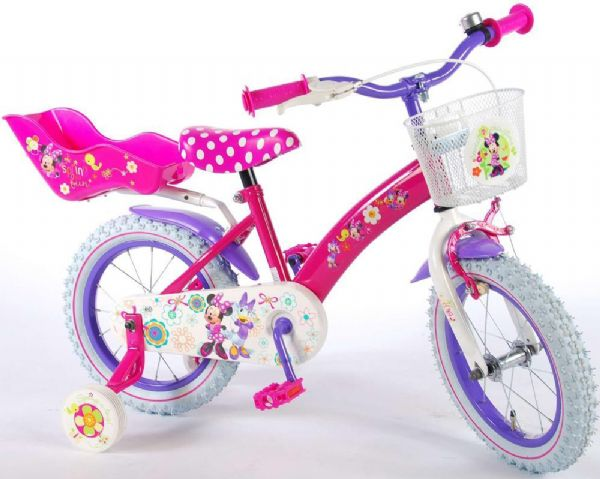 Image of Minnie Mouse Børnecykel 14 tommer (261-314261)