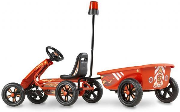 Image of Pedal Go-kart Foxy Fire m. trailer (267-707305)