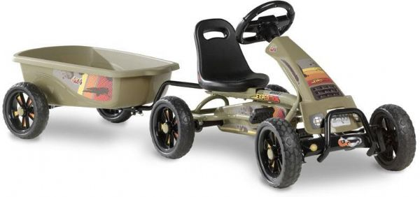Image of Pedal Go-kart Foxy Expedition m. trailer (267-707312)
