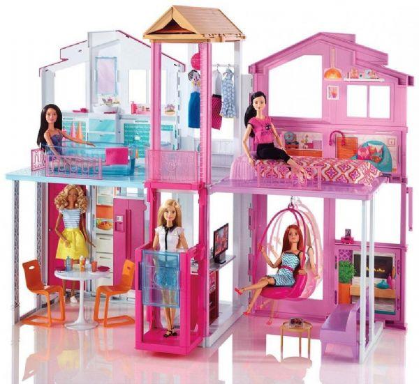 Image of Barbie Malibu Townhouse (29-0DLY32)