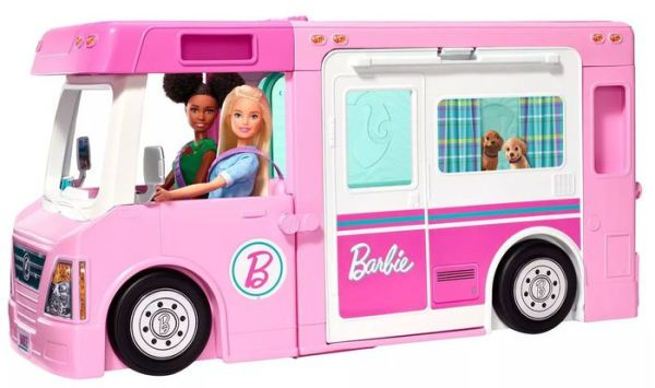 Image of Barbie Eventyr Autocamper 3i1 (29-0GHL93)
