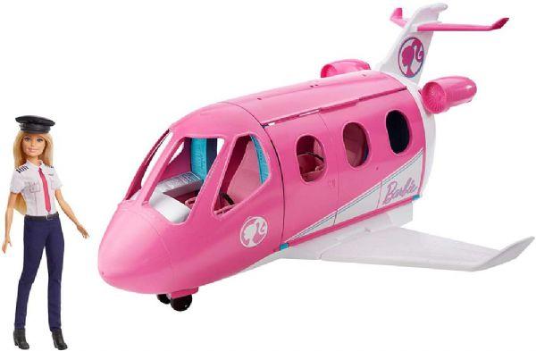 Image of Barbie Drømme flyvemaskine, inkl.dukke (29-0GJB33)