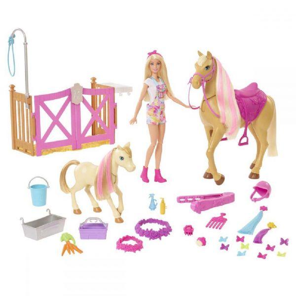 Image of Barbie Strigle og Pleje Legesæt (29-0GXV77)