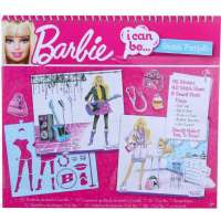 Barbie Bøger : Barbie I Can Be Sketch Portfolio - Barbie tegnebog 10-8616