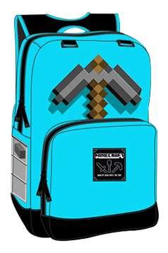 Minecraft Diamond Pickaxe Rygsæk Minecraft backpack taske