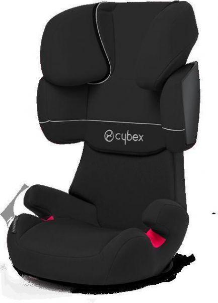 Image of Cybex Solution X Pure Black Autostol (362-114010)