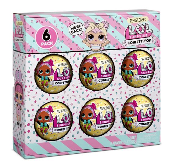 Image of LOL Surprise 6-Pack Confetti Dawn (374-571612)
