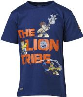 T-shirt : Lego Wear Chima T-shirt - Børnetøj Tristan 202  - Blue 15612-573