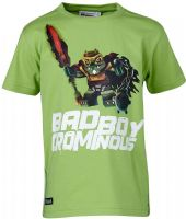 T-shirt : Lego Wear T-shirt - Børnetøj Dusty Green 15725-838