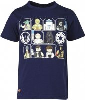 T-shirt : Lego Wear T-shirt - Børnetøj Dusty Blue 15734-591
