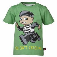 T-shirt : Lego Wear T-shirt - Børnetøj Pale Green 15849-837