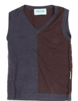 Mini A Ture, Miniature : Mini A Ture Vest - Børnetøj Dark Coffee 1113257322-169