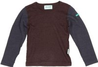 Mini A Ture, Miniature : Mini A Ture Bluse - Børnetøj Dark Coffee 1113256322-169