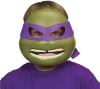 Ninja Turtles : Turtles Donatello deluxe maske - Turtles udklædning 92153