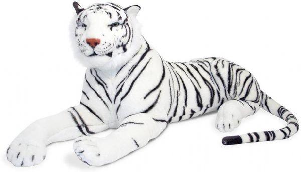 Image of Plys hvid tiger (441-013979)