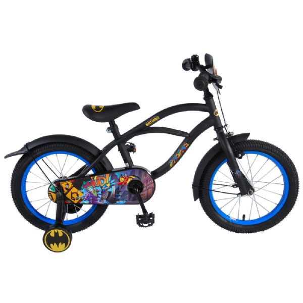 Billede af Batman Børnecykel 16 tommer sort