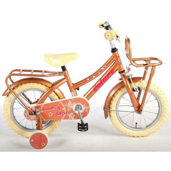 Billede af Børnecykel Lovely Stars 14 tommer guld