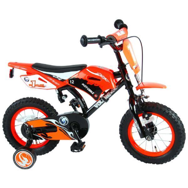 Billede af Børnecykel Motorcykel 12 tommer orange